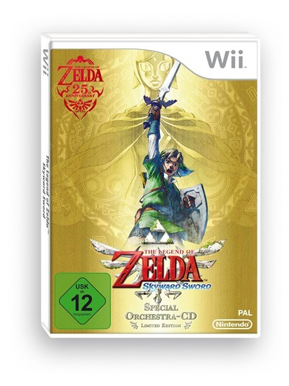 Zelda Skyward Sword Special Edition