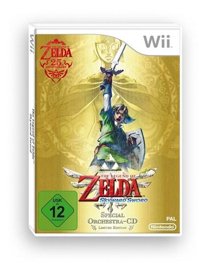Zelda Skyward Sword Special Edition