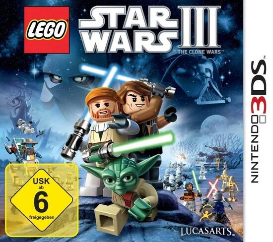 3DS Lego Star Wars 3 The Clone Wars