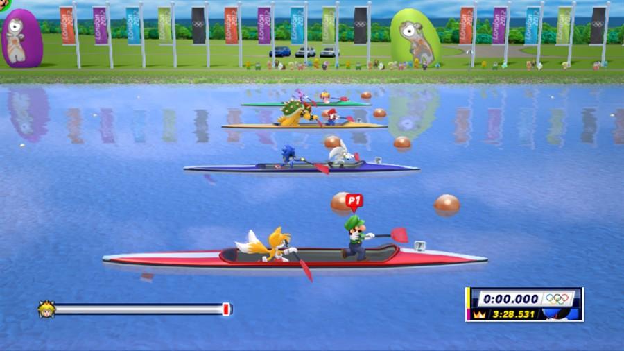 Mario Sonic bei den Olympischen Spielen: London 2012