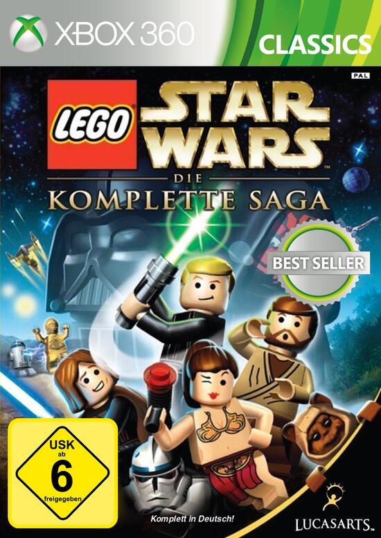 Lego Star Wars Die Komplette Saga Gamestopde
