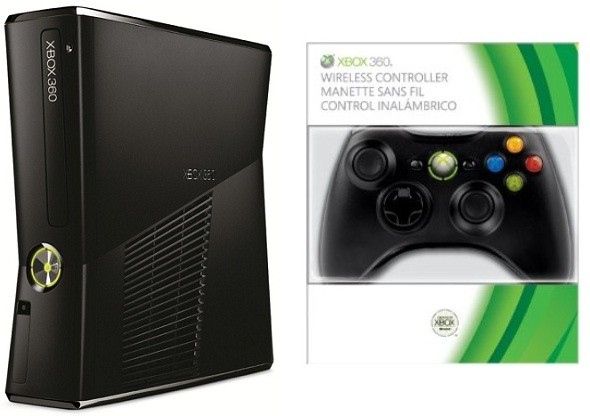 Xbox 360 matt 250 GB (B-Ware)