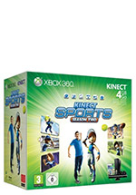 Xbox 360 Konsole 4 GB + Kinect Sports Season 2 (B-Ware)