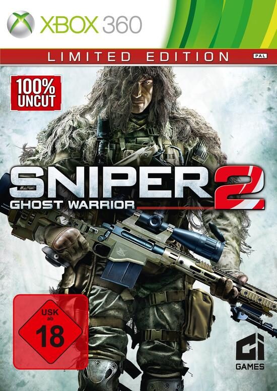 Sniper Ghost Warrior 2 (100% UNCUT) Limited Edition