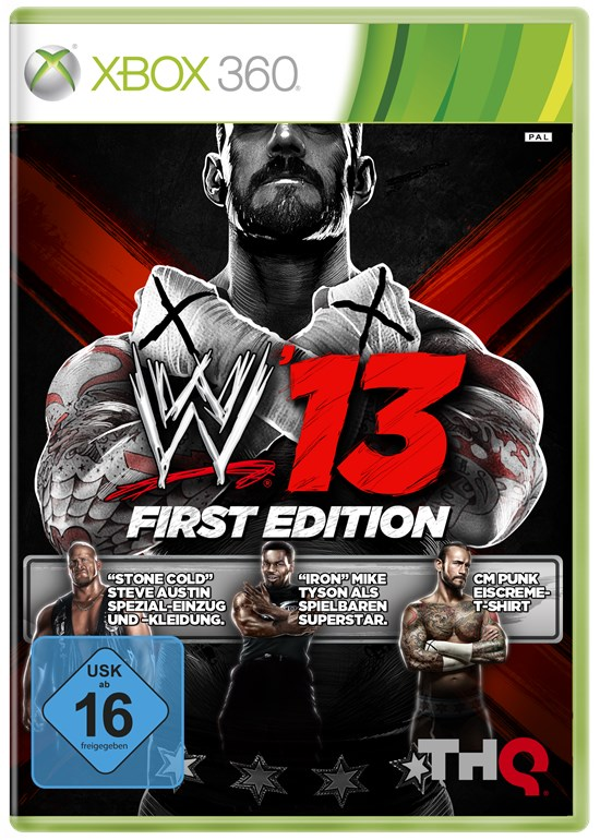 WWE 13 First Edition