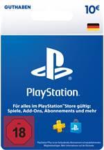 PlayStation® Store Guthabenkarte DE 10 EUR
