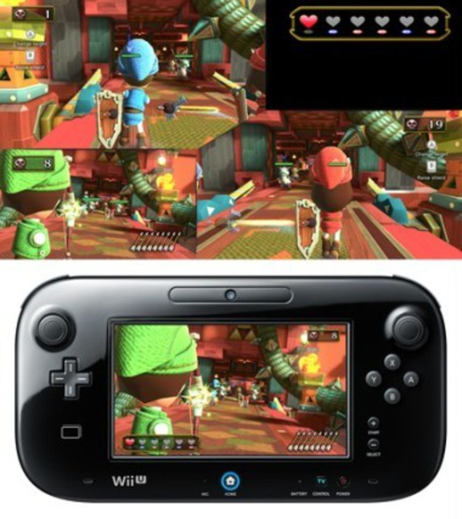 Wii U Konsole Premium Pack black 32 GB (inkl. Nintendo Land)