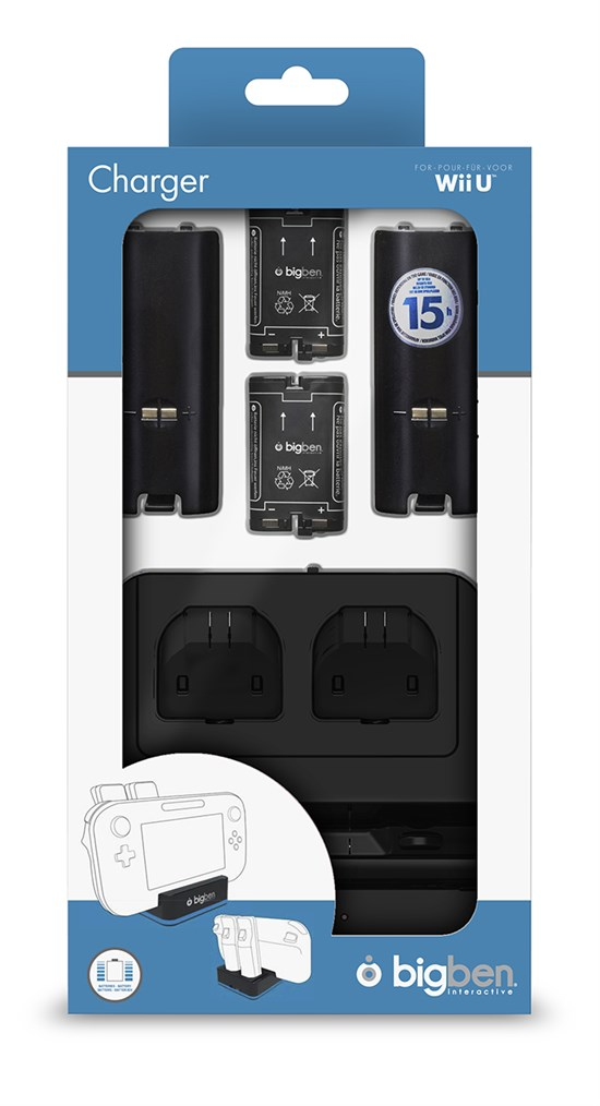 Wii U 2 In 1 Charger Gamestop De Power To The Players
