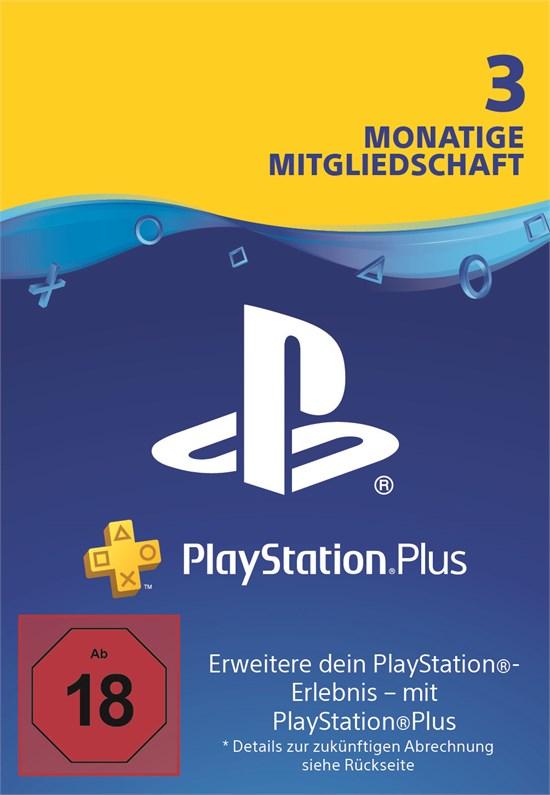 PlayStation® PLUS Mitgliedschaft DE 3 Monate