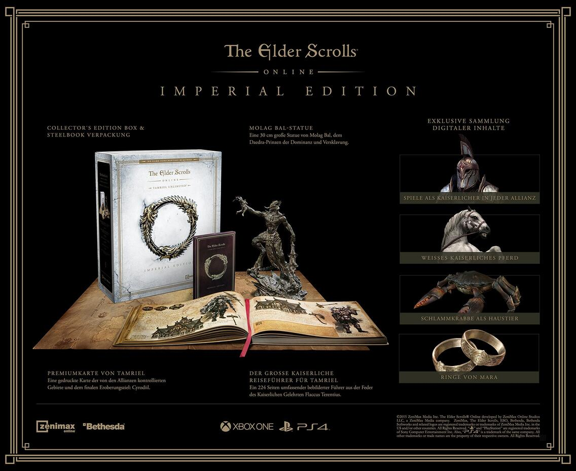 The Elder Scrolls Online for PC, Xbox One and PS4 | GameStop