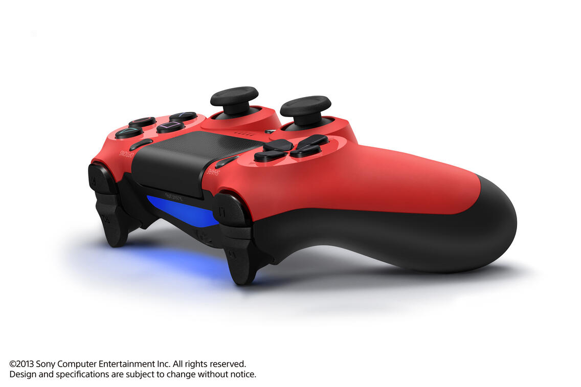 PS4 Dualshock 4 Controller magma red