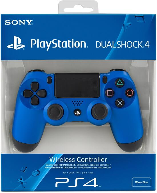 PS4 Dualshock 4 Controller wave blue
