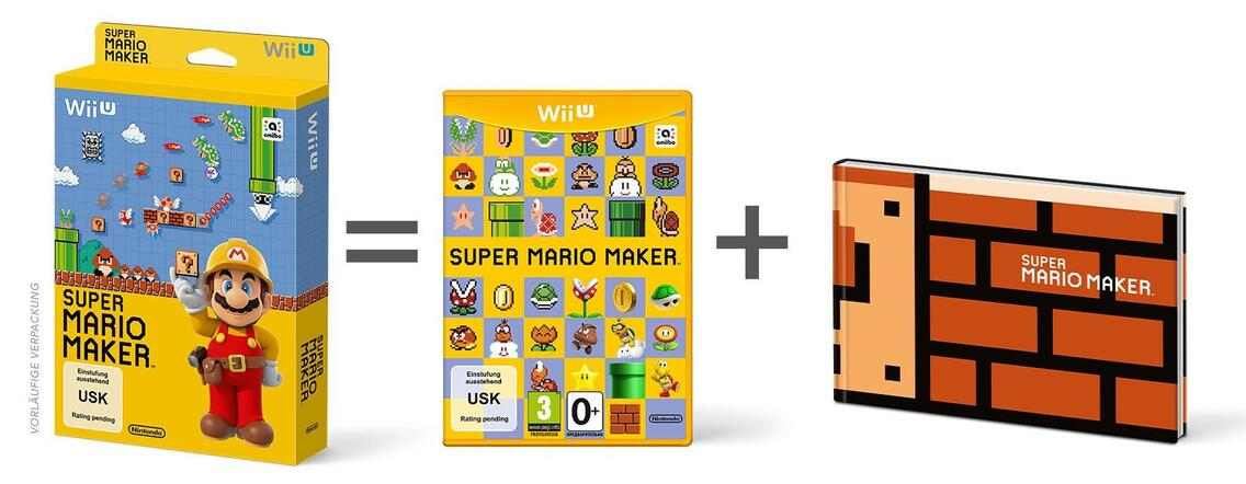 Super Mario Maker - Artbook Edition