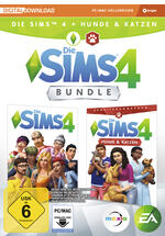Die Sims 4 plus Hunde & Katzen Bundle (Code in a Box)
