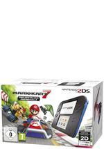 2DS Konsole schwarz + Mario Kart 7
