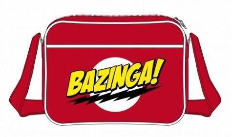 The Big Bang Theory - Messenger Bag Bazinga (online only)