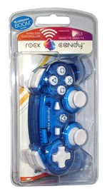 PS3 Rock Candy Wireless Controller blau