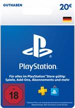 PlayStation® Store Guthabenkarte DE 20 EUR