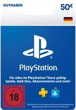 PlayStation® Store Guthabenkarte DE 50 EUR