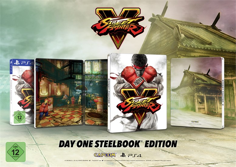 Street Fighter V (ohne Steelbook)