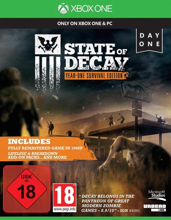 State Of Decay Year One Survival Edition Gamestopde