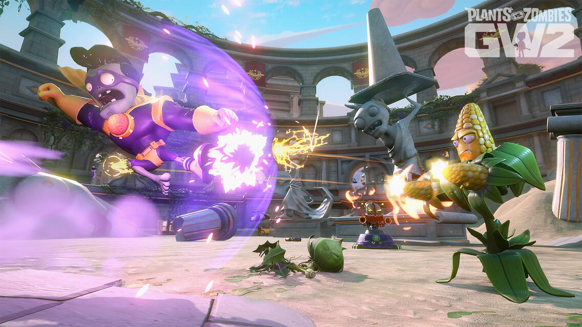 Plants Vs Zombies Garden Warfare 2 Power To The Players