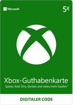 Xbox Live Guthaben 5 EUR [Code-DE]