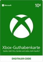 Xbox Live Guthaben 10 EUR [Code-DE]