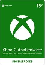 Xbox Live Guthaben 15 EUR [Code-DE]
