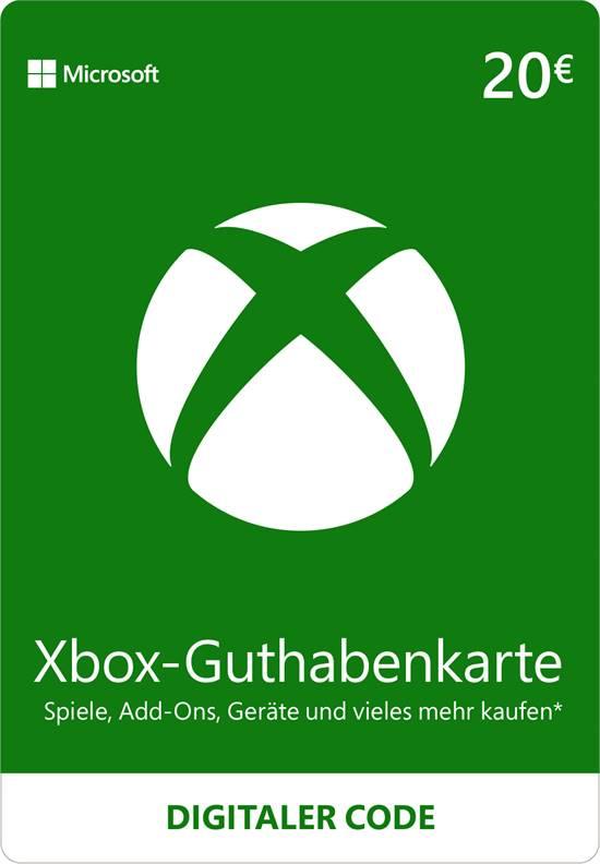 Xbox Live Guthaben 20 EUR [Code-DE]