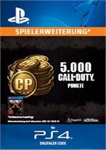 Call of Duty Punkte 4.000 (+1.000 BONUS)