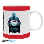 Batman vs Superman - Tasse Silhouette