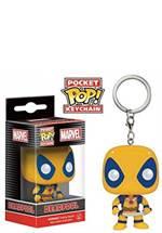 Deadpool - Schlüsselanhänger Yellow Suit
