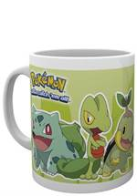 Pokémon - Tasse Grass Partners