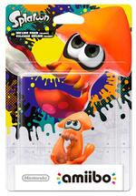 amiibo Figur Splatoon Inkling Tintenfisch (Orange)