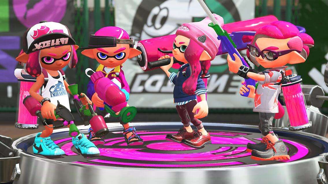 Splatoon 2 Screenshot
