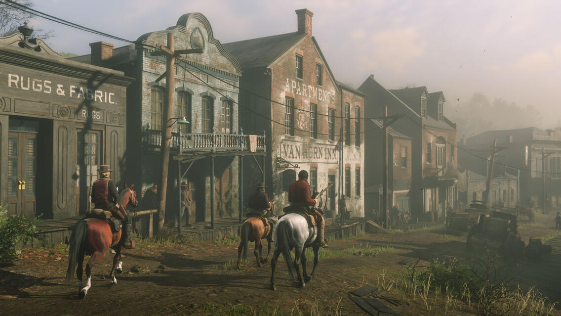 Red Dead Redemption 2 Screenshot