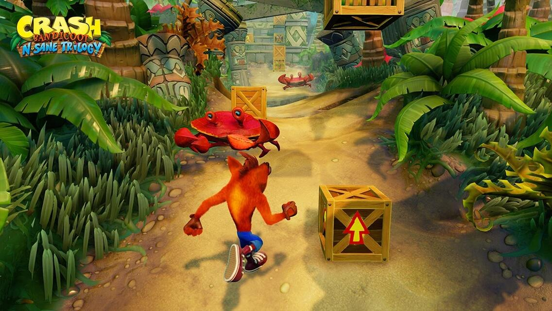 Crash Bandicoot N'Sane Trilogy Screenshot