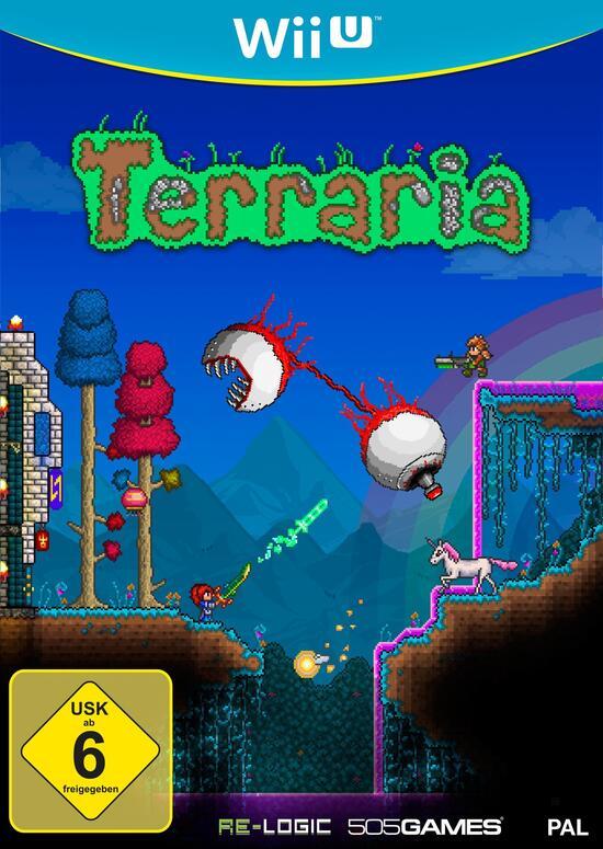 Wii U Terraria Gamestopde