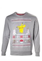 Pokemon - Sweatshirt Pikachu Christmas (Größe XL)
