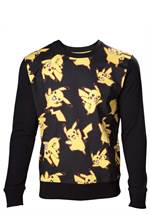 Pokémon - Sweatshirt Pikachu All Over (Größe M)