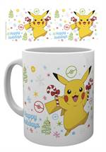Pokémon - Tasse XMAS Pikachu