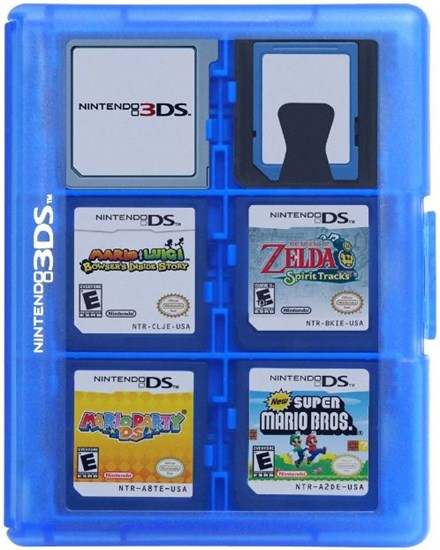 3ds Game Card Case Fur Max 24 Spiele Hori Blau Gamestop De