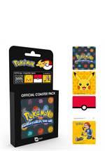 Pokemon - Untersetzer 4er-Pack