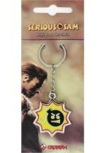 Serious Sam - Schlüsselanhänger Bomb Logo