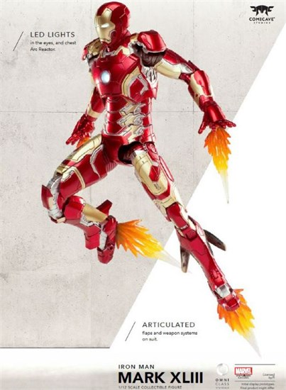 Marvel Avengers Age of Ultron - Figur Iron Man Mark (only online!)