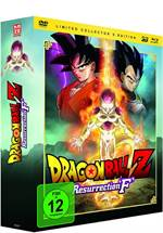 Dragonball Z: Resurrection 'F' Limited Collector's Edition (DVD, Blu-ray & 3D-Blu-ray)