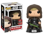 Star Wars - POP! Vinyl-Figur Hooded Luke Skywalker