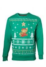 Nintendo - Sweater Jumping Mario XMAS (Größe M)