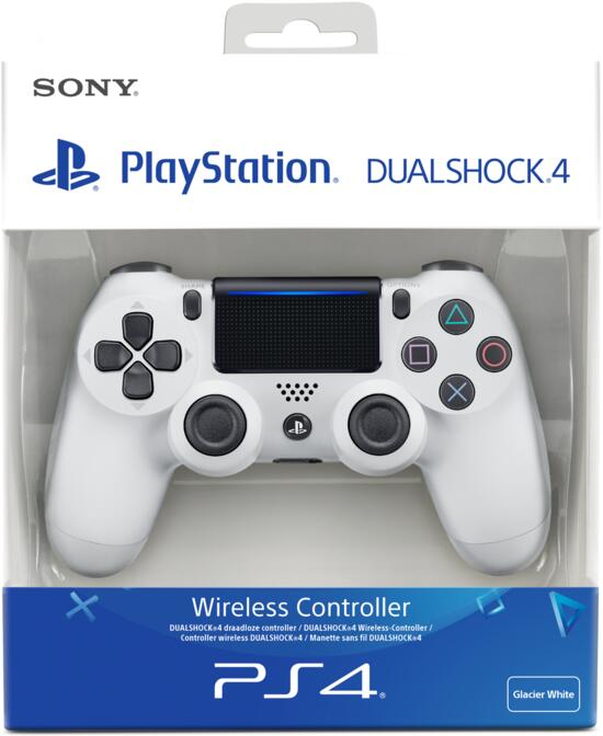 PS4 Dualshock 4 Controller (neues Modell) weiß
